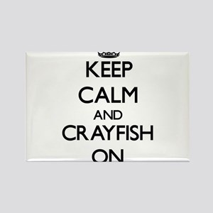 Keep calm and Crayfish On Magnets