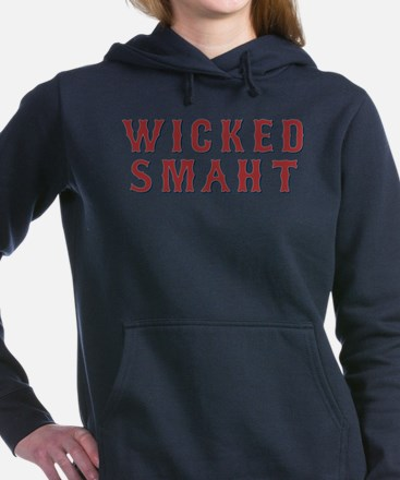 Wicked Smaht Women's Hooded Sweatshirt