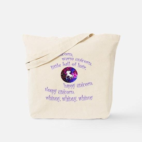 Soft Unicorn Tote Bag