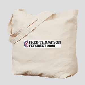 FRED THOMPSON for President 2 Tote Bag