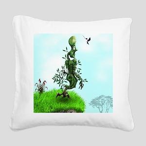 Creature Square Canvas Pillow