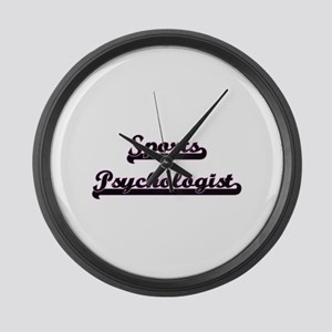 Sports Psychologist Classic Job D Large Wall Clock