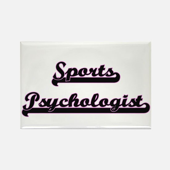 Sports Psychologist Classic Job Design Magnets