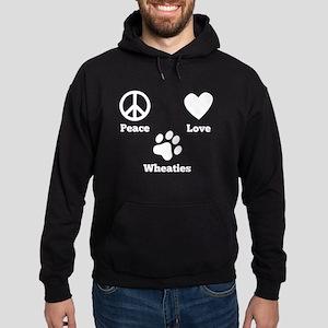 Peace Love Wheaties Hoodie