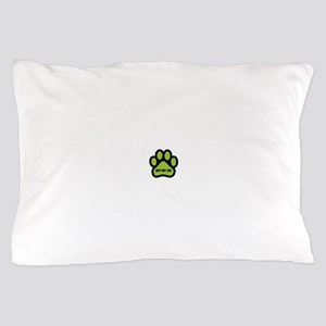 Adopt Don't Shop (lime green) Pillow Case