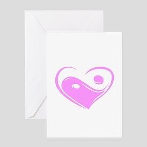 Ying Yang Love Greeting Card
