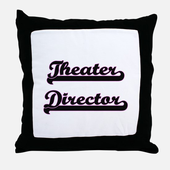 Theater Director Classic Job Design Throw Pillow