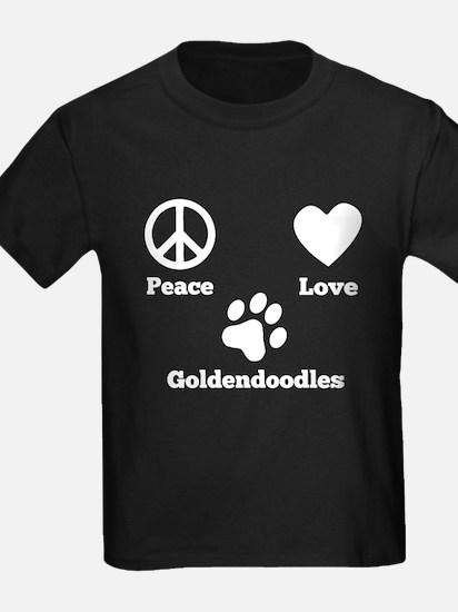 Peace Love Goldendoodles T-Shirt