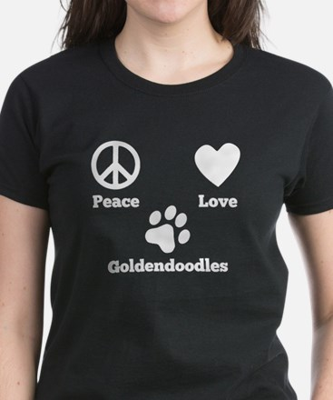 Peace Love Goldendoodles T-Shirt