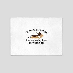 Consciousness 5'x7'Area Rug