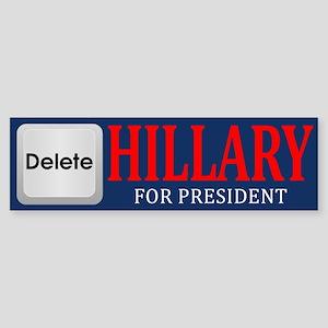 Delete Hillary Bumper Sticker
