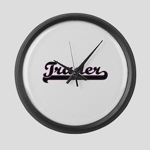 Trader Classic Job Design Large Wall Clock