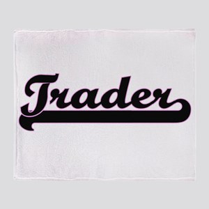 Trader Classic Job Design Throw Blanket