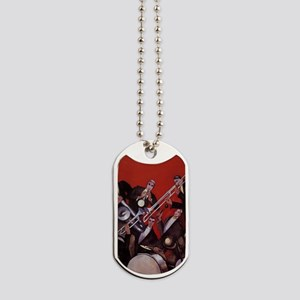 Vintage Music, Art Deco Jazz Dog Tags