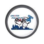 Time For GPMABL Baseball Wall Clock