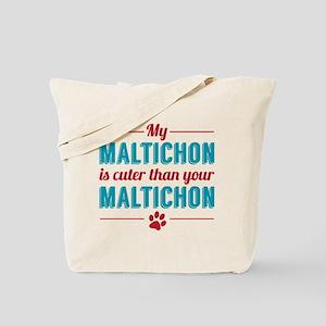 Cuter Maltichon Tote Bag