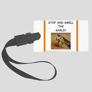 garlic Luggage Tag