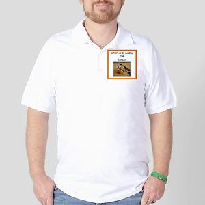 garlic Golf Shirt