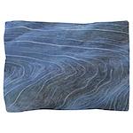 Blue Grain Pillow Sham