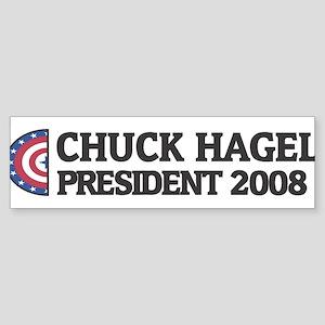 CHUCK HAGEL for President 200 Bumper Sticker