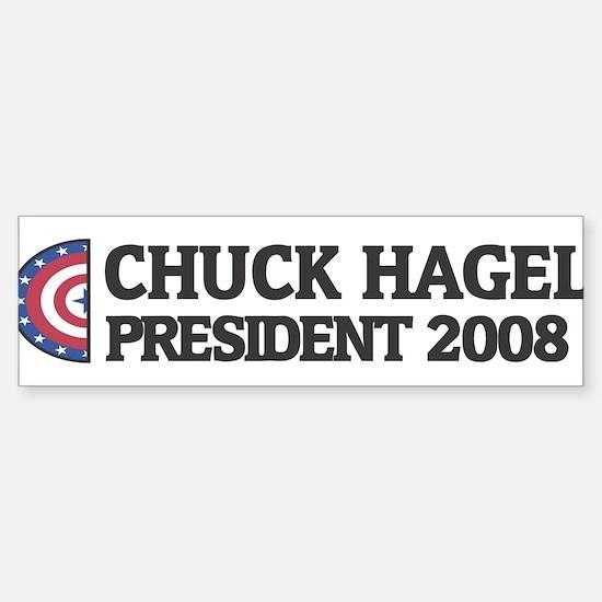 CHUCK HAGEL for President 200 Bumper Bumper Bumper Sticker