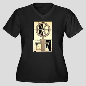 Vintage Business Factory Plus Size T-Shirt