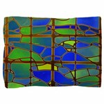 Technicolor Stained Glass Pillow Sham