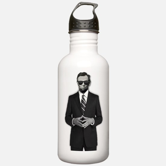 Lincoln Serious Busine Water Bottle