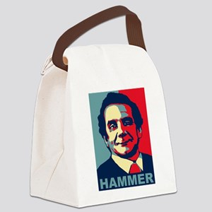 Charles Krauthammer, 2016 Canvas Lunch Bag