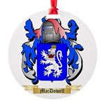 MacDowell Round Ornament