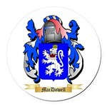 MacDowell Round Car Magnet