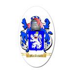 MacDowell 20x12 Oval Wall Decal