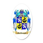 MacDougall Oval Car Magnet