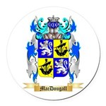 MacDougall Round Car Magnet