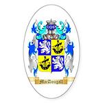 MacDougall Sticker (Oval 50 pk)