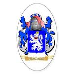 MacDouall Sticker (Oval 50 pk)