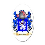 MacDouall 20x12 Oval Wall Decal