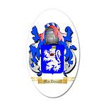 MacDouall 35x21 Oval Wall Decal