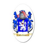 MacDoual 20x12 Oval Wall Decal