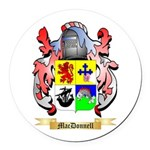 MacDonnell Round Car Magnet