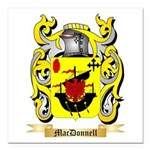 MacDonnell (Glengarry) Square Car Magnet 3