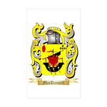 MacDonnell (Glengarry) Sticker (Rectangle 10 pk)