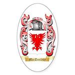 MacDonlevy Sticker (Oval 10 pk)