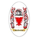 MacDonlevy Sticker (Oval 50 pk)