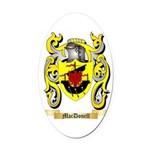 MacDonell Oval Car Magnet