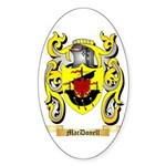 MacDonell Sticker (Oval 50 pk)