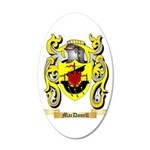 MacDonell 20x12 Oval Wall Decal