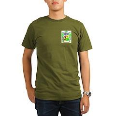 MacDonald (Slate) Organic Men's T-Shirt (dark)