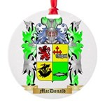 MacDonald (Slate) Round Ornament