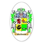 MacDonald (Slate) Sticker (Oval 10 pk)